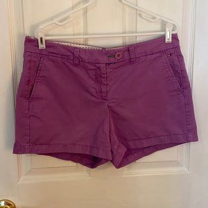 Tommy Hilfiger Purple Shorts Size 12 Chino Khakis
